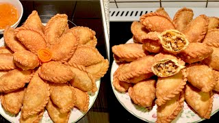 Bánh gối/bánh xếp_cách làm bánh gối vỏ giòn thơm ngon_Bếp Hoa