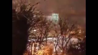Beşiktaş patlama anı ve silah sesleri