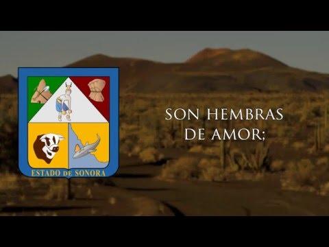Canción al Estado de Sonora -