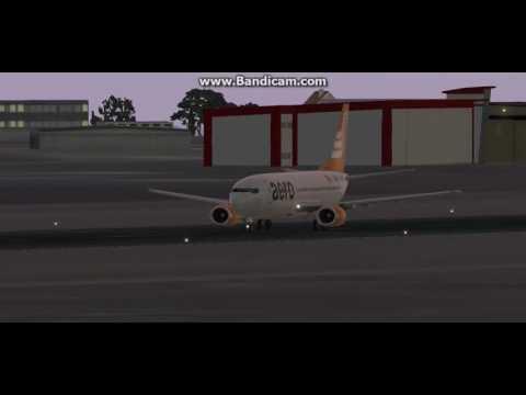 On Approach DNBE - Benin City Airport of Nigeria on VATSIM Network