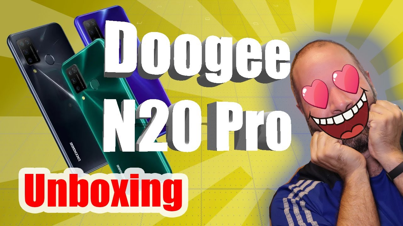 Unboxing del NUEVO Doogee N20 PRO 2020 en EXCLUSIVA 😍 - Deja POR LOS SUELOS a la versión anterior.