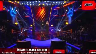 Sibel Karabaş O Ses Turkiye ( İNSAN OLMAYA GELDİM)