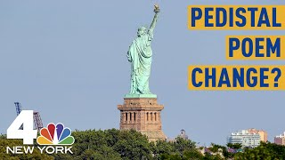 Trump Immigration Official: Statue of Liberty Poem Is About Europeans | NBC New York