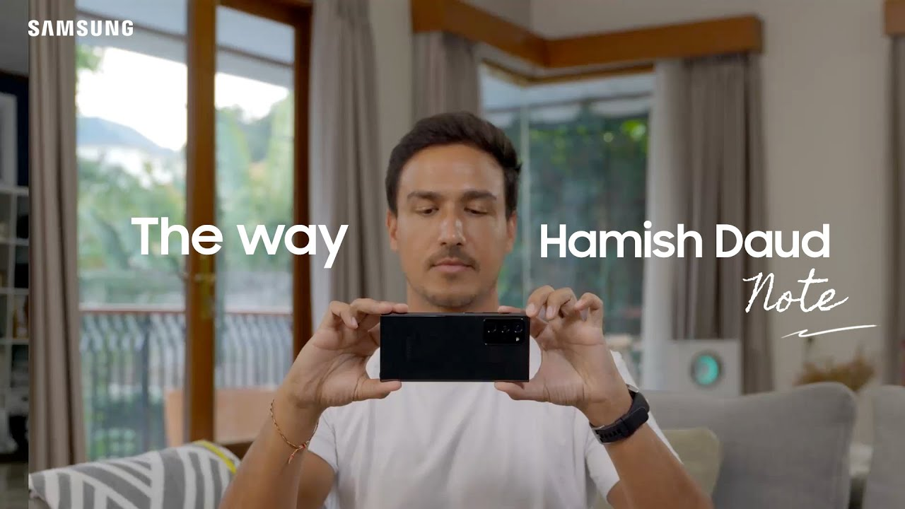 Samsung Indonesia: Galaxy Note20 | 20 Ultra - The Way Hamish Daud Note