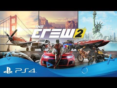 [4K] The Crew 2 - Trailer Bêta Ouverte E3 2018   21 au 25 juin   PS4