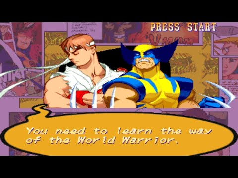 x-men-vs.-street-fighter-(-wolverine---ryu-)-gameplay
