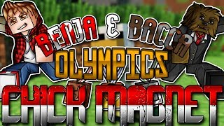 Minecraft: Benja & Bacca Olympics Game 9 - Chick Magnet!