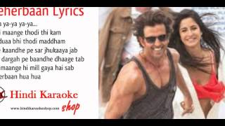 Bang Bang Songs Hindi Karaoke with Lyrics