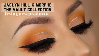 Jaclyn Hill x Morphe vault collection l Neutral eyeshadow look