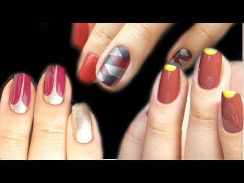 Дизайн ногтей ФРЕНЧ! Все про французский маникюр гель лаком. РАЗНЫЕ СПОСОБЫ