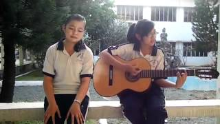 2 nữ sinh Việt cover đàn guitar hay gây sốc Stronger   Kelly Clarkson cover hay nhất 2012   YouTube