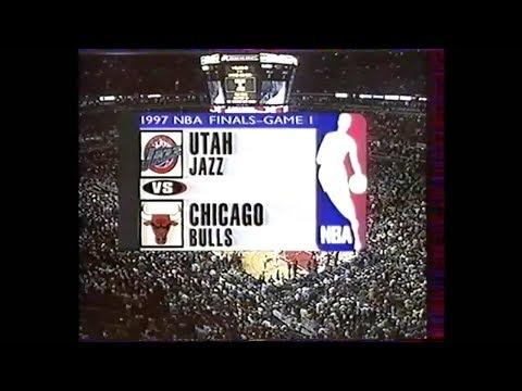 Chicago Bulls - Utah Jazz - Game 1 Finale NBA 1997 - VF George Eddy