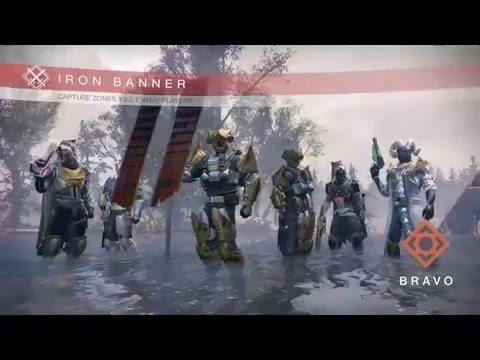 Iron Banner Twitch Stream - MAR29-APR04 2016