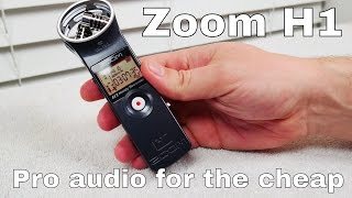 A new favorite audio toy! Zoom H1