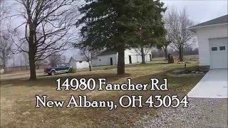 SOLD - 14980 Fancher Road, New Albany, Ohio - For Sale