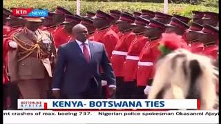 Kenya - Botswana tie talk of the town as Botswana's president