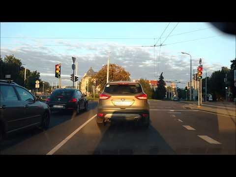 Lithuania- Vilnius city drive
