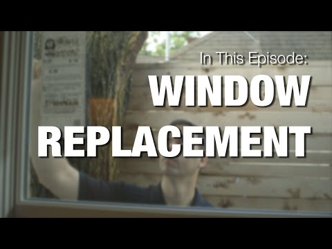 Window Replacement - How To Replace Wood Windows in Siding