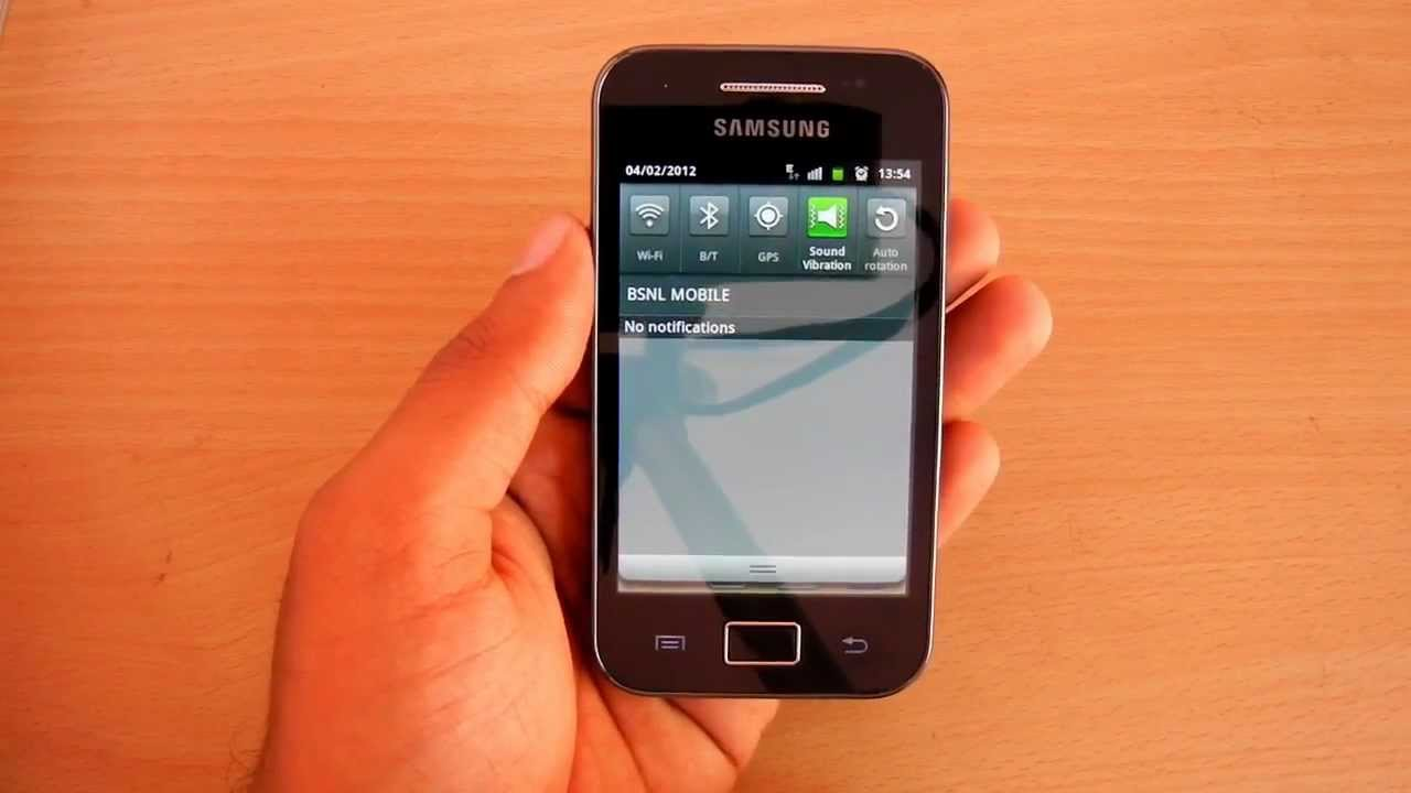 Samsung Galaxy Ace Wi Fi Error Not Fixed With The Gingerbread