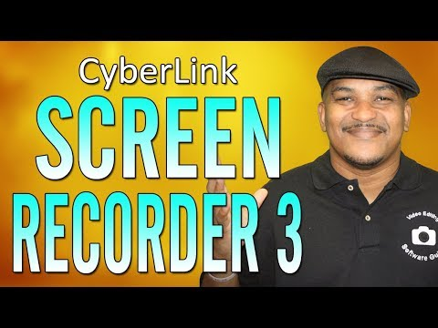 CyberLink Screen Recorder 3 | Screen Recording & Live Streaming Tutorial 🔴