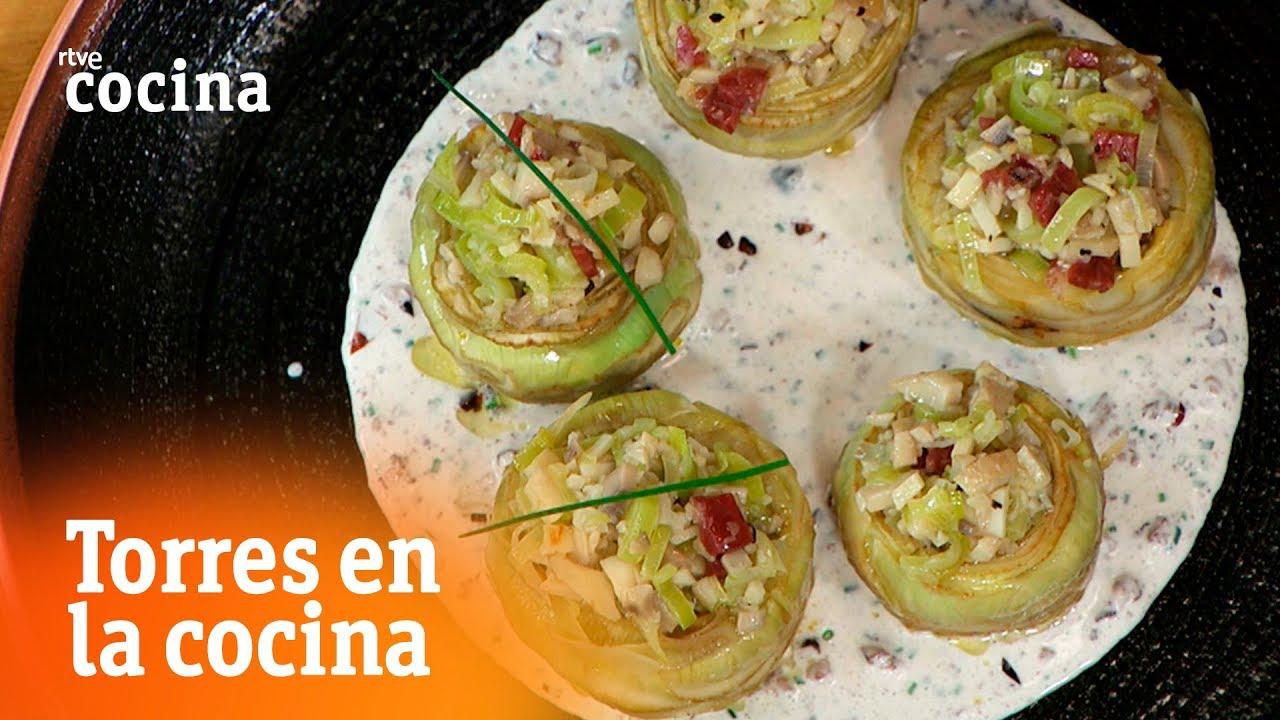 Alcachofas con anchoas torres en la cocina rtve cocina for Torres en la cocina youtube