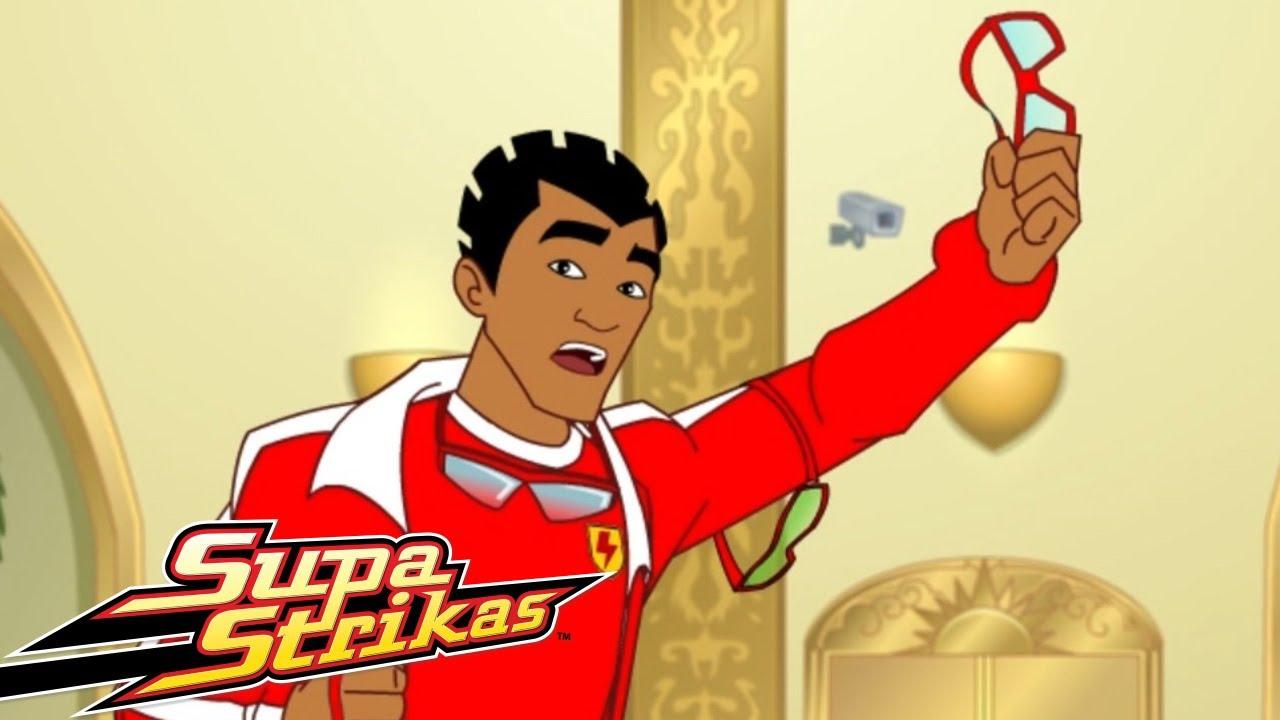 Supa Strikas | Golos e Resumos (Fintador no Telhado) | Animados de FUTEBOL em Português!