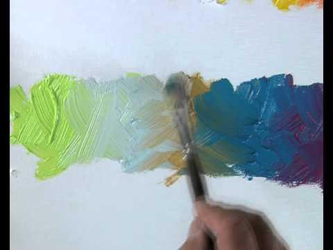 Les Bases De La Peinture L 39 Huile Choix Des Couleurs
