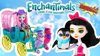Enchantimals • #2 • NOWOŚĆ 2018 • Podwodna Karoca Koników Morskich & Lodziarnia Pingwinów • openbox Video