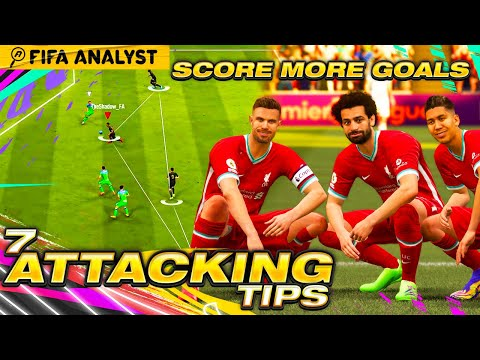 7 Attacking Tips To Score More Goals On FIFA21 - The Key Differences In Scoring More Goals