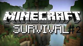 Minecraft Survival - Bölüm 2 - Maden Yaptım Ve Spawner Buldum