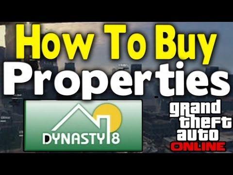 GTA Online - HOW TO BUY PROPERTIES (Apartments & Garages) [GTA V Multiplayer Tips & Tricks]
