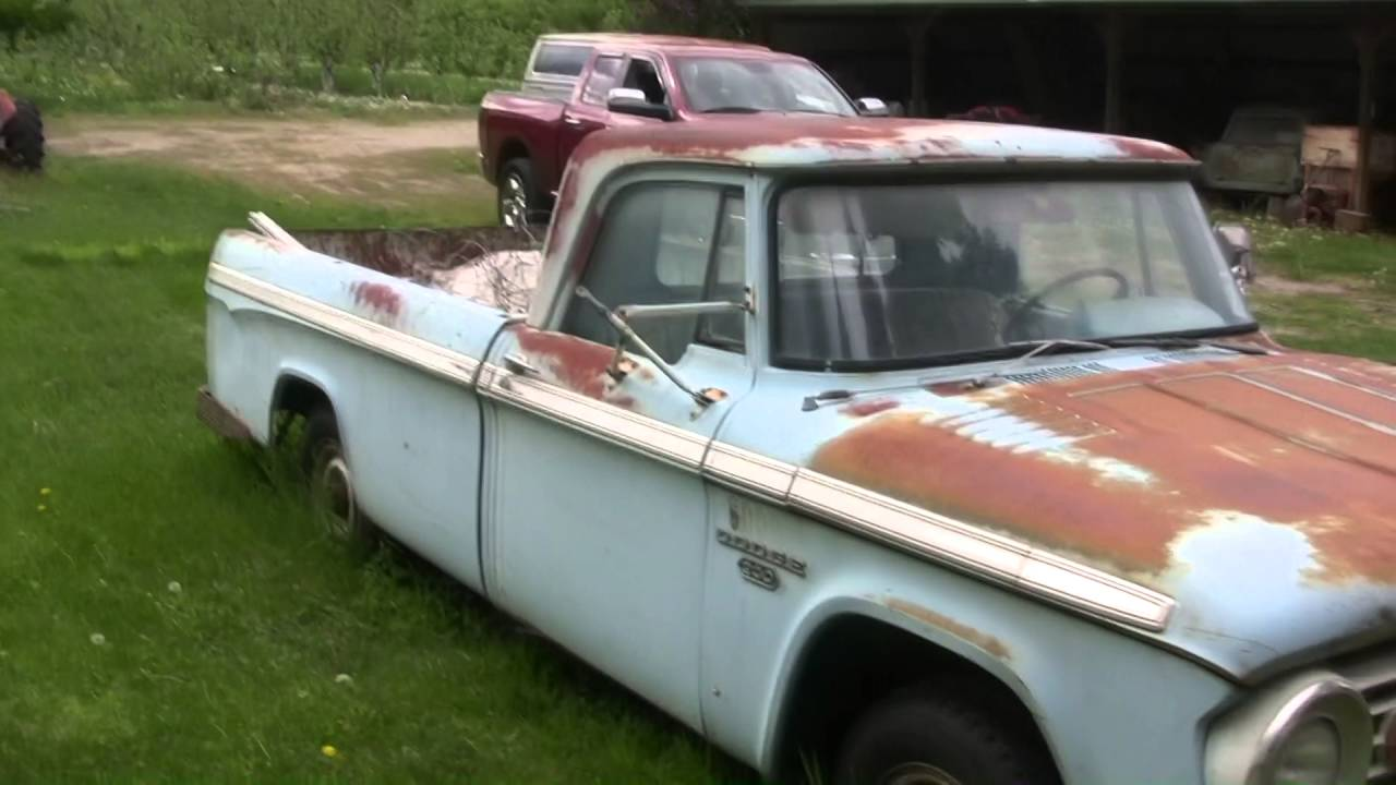 Old Dodge Patina Truck Youtube