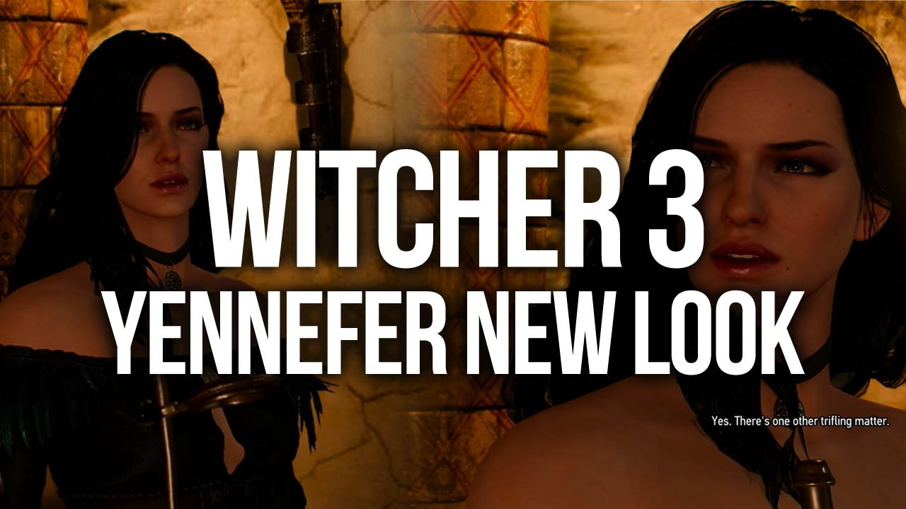 Witcher 3 Dlc 2 Alternative Look For Yennefer Youtube