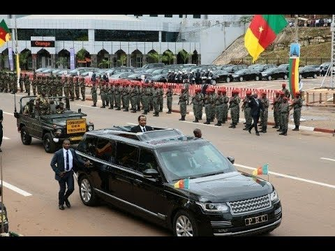 Cameroon President Paul Biya's Range Rover Autobiography SV Stretched Limousine