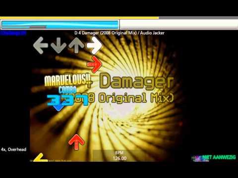 Audio Jacker - D 4 Damager (2008 Original Mix) - Stepmania HD