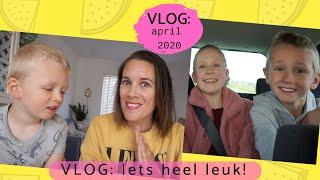 Vlog: Eindelijk onze nieuwe auto (april 2020 - daanliesenkids)