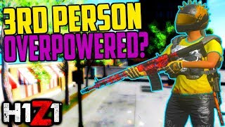 H1Z1 3rd Person Aiming Overpowered? H1Z1 PS4 Update Gameplay
