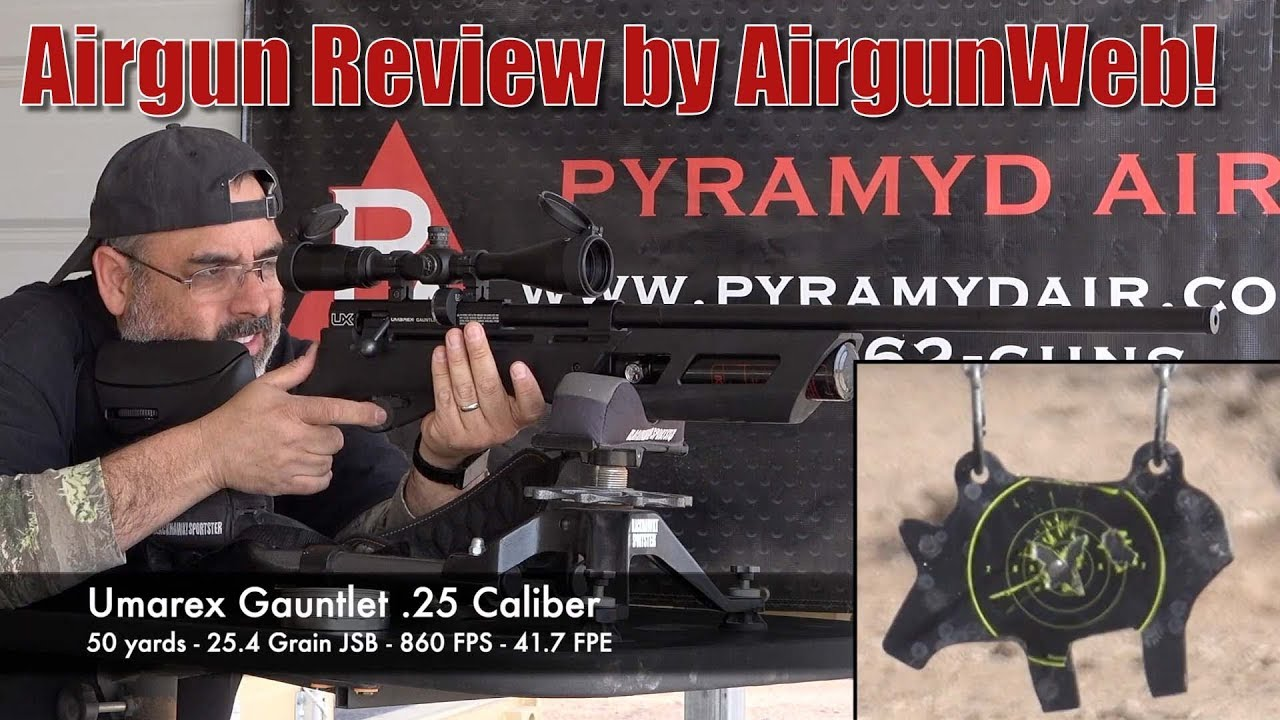 Umarex Gauntlet  25 and Axeon Airgun Scope Exceptional Airgun Package! -  Review by AirgunWeb