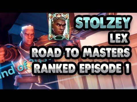 Road to Masters Lex! Episode 1 – PENTA KILLS! QUADRA KILL ULTS! Hard Carry! stolzey