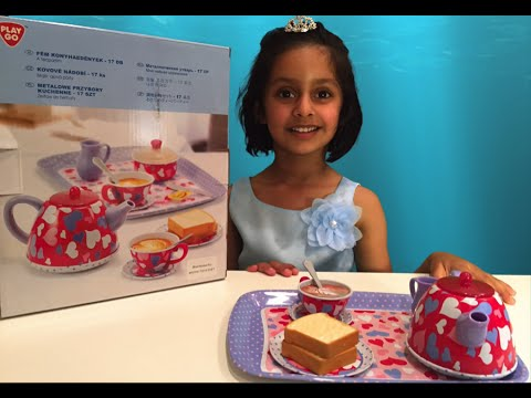 Playgo Tea Set With Frozen Elsa Anna Playgo Toaster