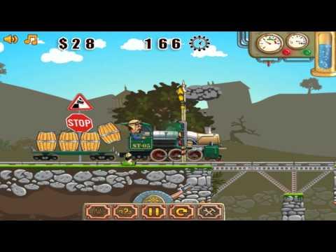 Viaduct Designer, построй мост для поезда, игра для детей