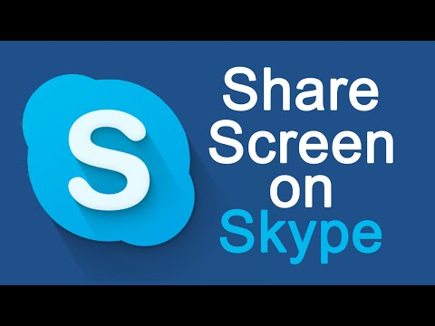How To Share Screen on Skype Windows 8 / 8.1 / 7 / XP