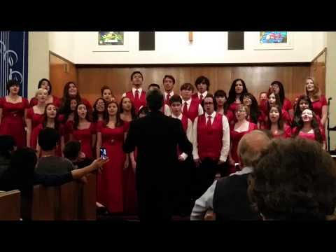 12 Days of Christmas performed by Imperial High School's Adv. Choir