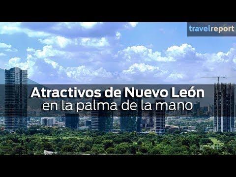 Atractivos de Nuevo León en la palma de la mano