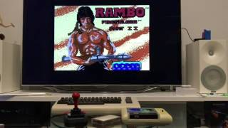 Rambo: First Blood Part II – C64 tape loading in real time