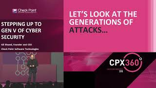 Gil Shwed Keynote: Stepping Up to Gen V of Cyber Security