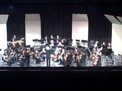 NHS Symphony Orchestra performing Tzigane, Rapsodie de concert