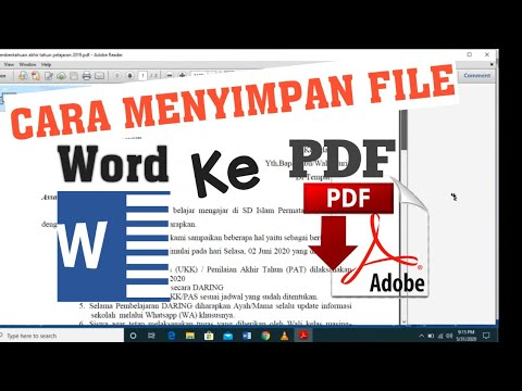 How to convert word document to PDF in windows 10 | Laptop | Online | Word to PDF |