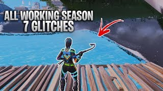 *NEW* ALL WORKING SEASON 7 FORTNITE GLITCHES - GODEMODE, FLYING, UNDERMAP AND MORE