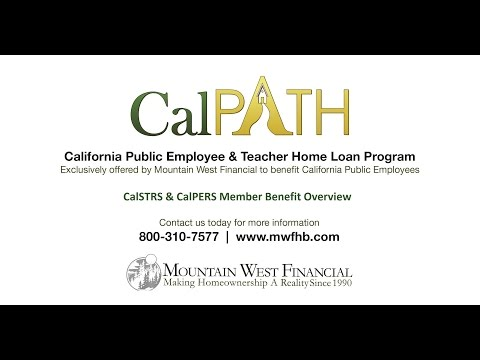 CalPATH - California Public Employee & Teacher Home Loan Program